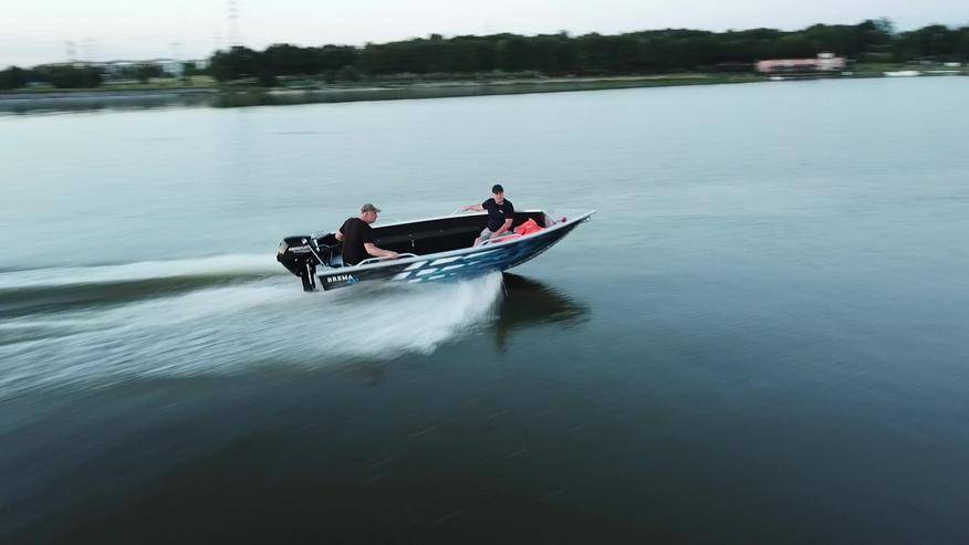 Angelboot Motorboot Aluboot Brema Boot