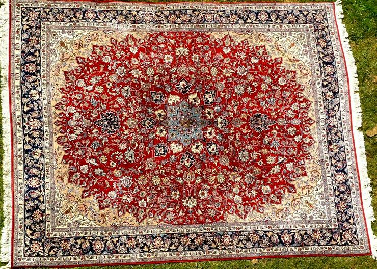 Orientteppich Isfahan exorbitant 310x250 TOP (T061)