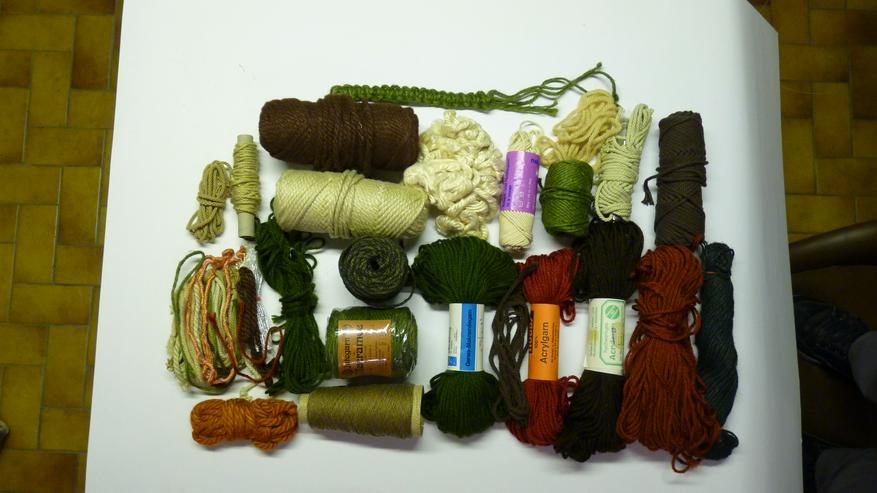 Makrame- und Knüpfgarn ca. 300 m verschiedene Farben 3 und 5 mm