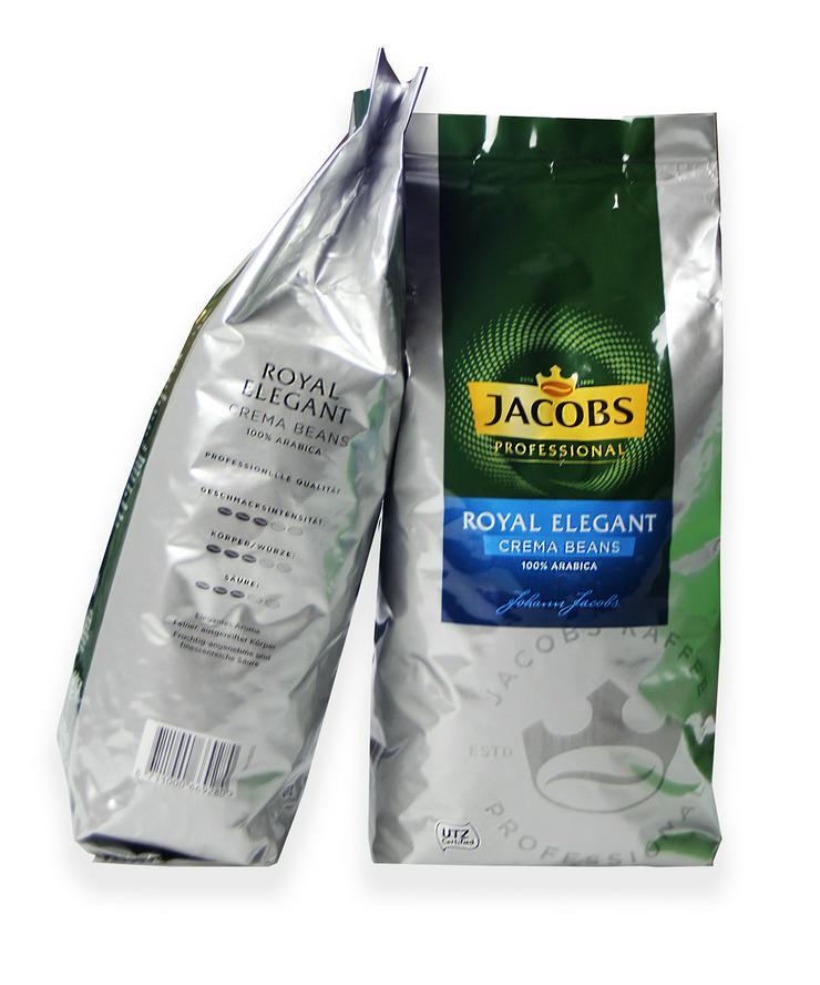 Gastronomen aufgepasst! Jacobs Bohnenkaffee Royale Elegant 1000g zu verkaufen
