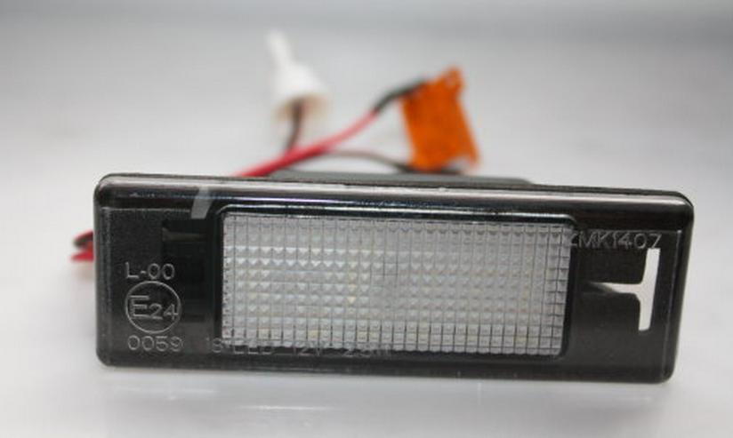 Bild 2: LED Kennzeichenleuchte Nissan Pulsar C13 Kennzeichenbeleuchtung
