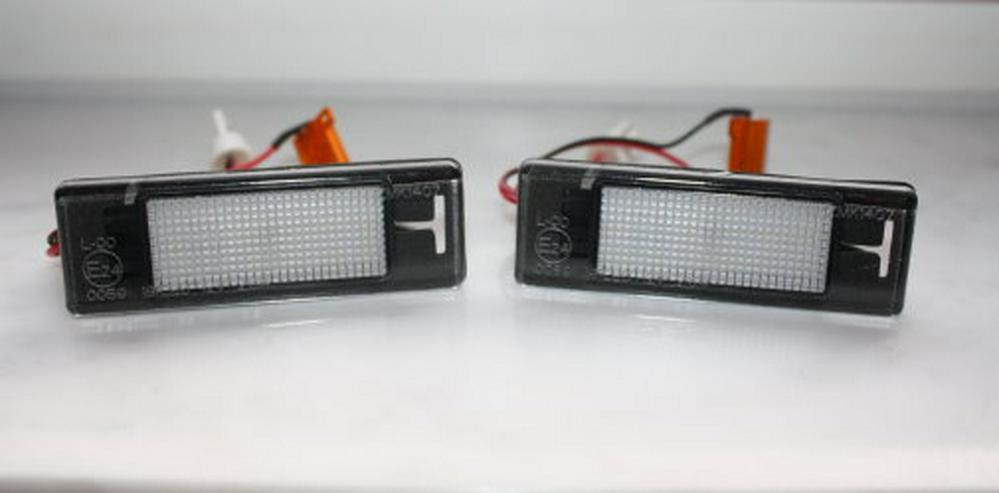 LED Kennzeichenleuchte Nissan Pulsar C13 Kennzeichenbeleuchtung - Autokennzeichen - Bild 1