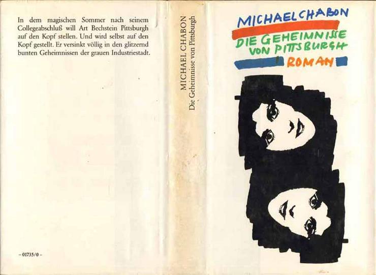 Buch von Michael Chabon - Die Geheimnisse von Pittsburgh - ein Roman - 1988