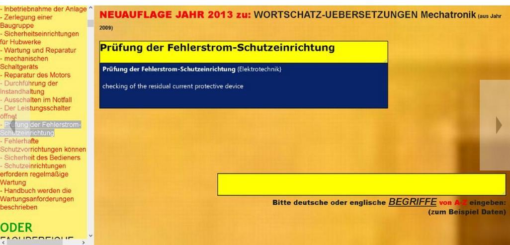 Bild 2: englische Bedienungsanleitung inhaltlich + semantisch in Zielprache englisch übersetzen