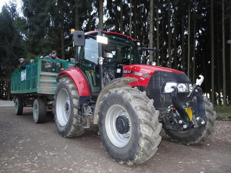 Kostenlose Traktorfahrten mit dem Tannenhof Express u. Lagerfeuer - Weitere - Bild 1