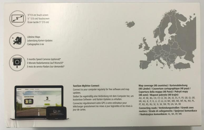 Bild 2: TomTom Start 52 EU Touchscreen Navigationssystem mit 48 Länder + Karten Update!
