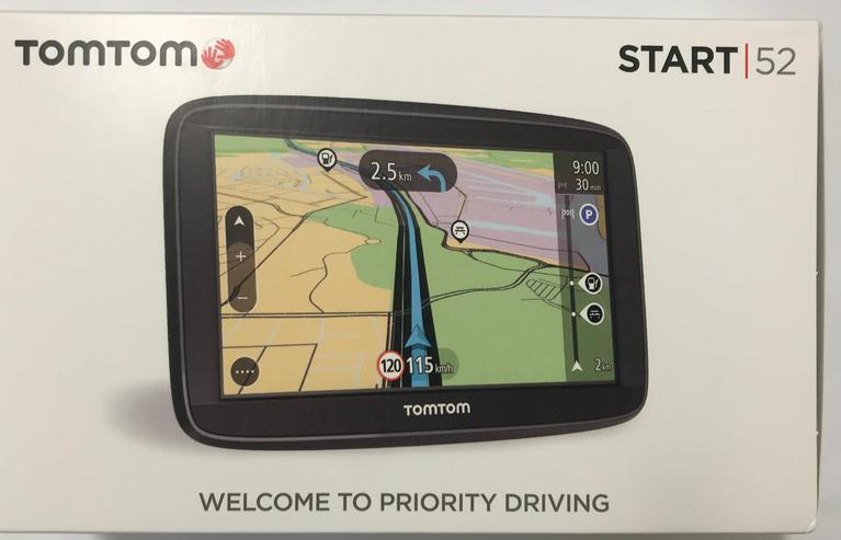 TomTom Start 52 EU Touchscreen Navigationssystem mit 48 Länder + Karten Update!