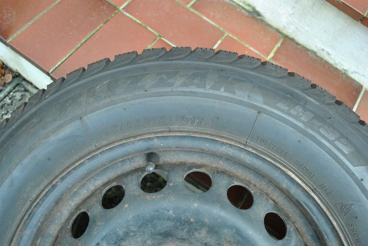 Bild 3: 4Stk. Bridgestone BLIZZAK LM32 195/65 R15 auf Stahlfelge für Renault Megane II