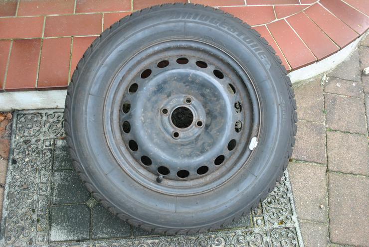 Bild 2: 4Stk. Bridgestone BLIZZAK LM32 195/65 R15 auf Stahlfelge für Renault Megane II