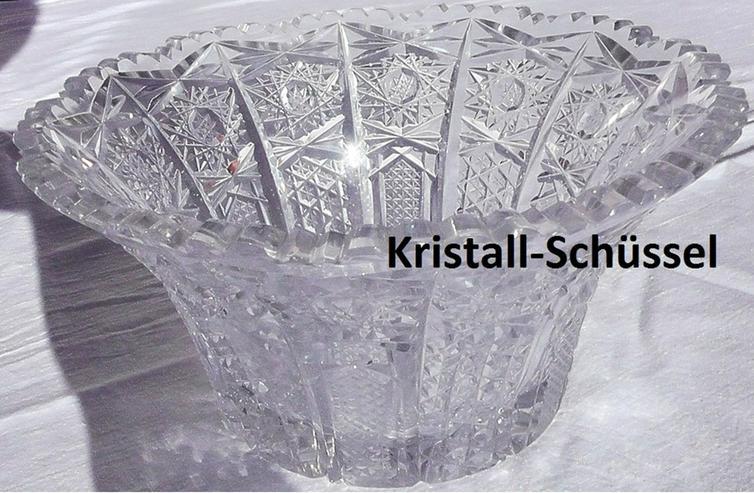 Bild 4: Blei-Kristall-Gefäße