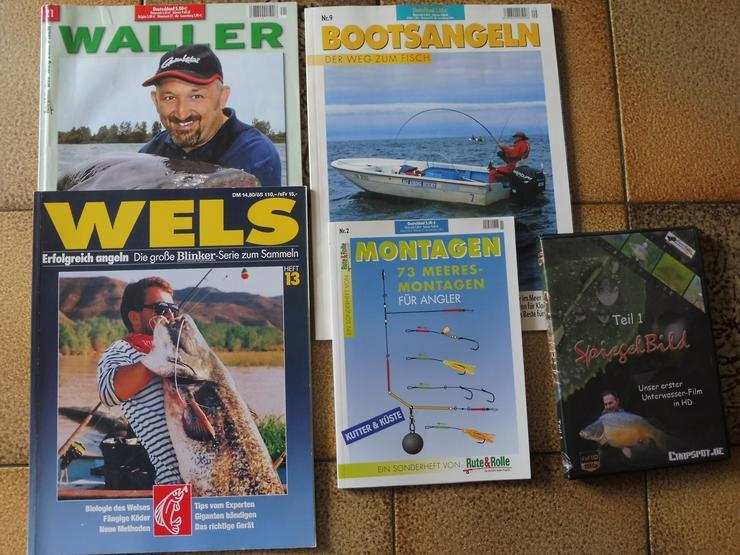 Angeln – Sonderhefte Waller und Weitere, + DVD