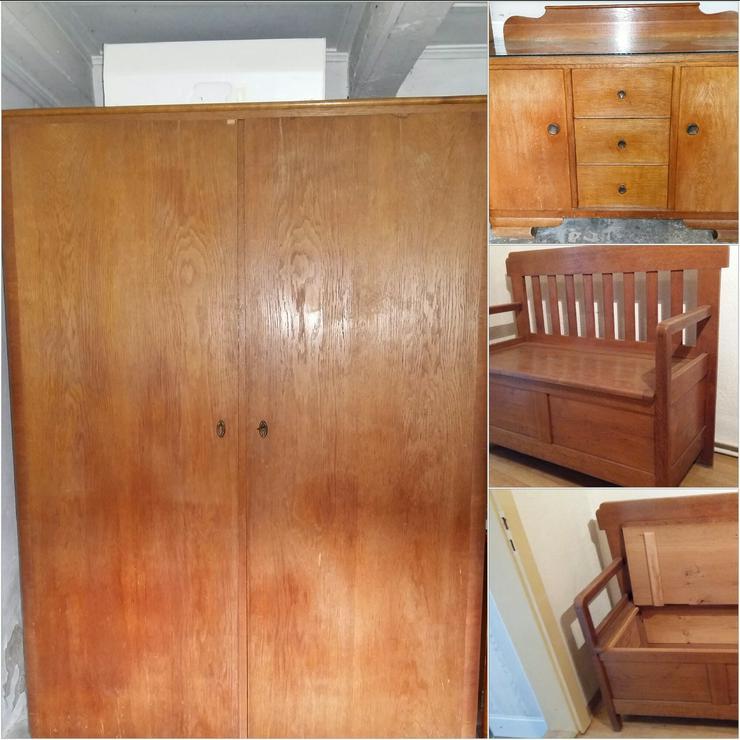 Gemütliches Schlafzimmer aus den 50ern