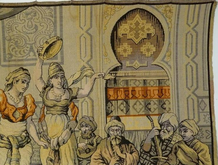 Bild 4: Gobelin Bildteppich antik 175x125 (G013)