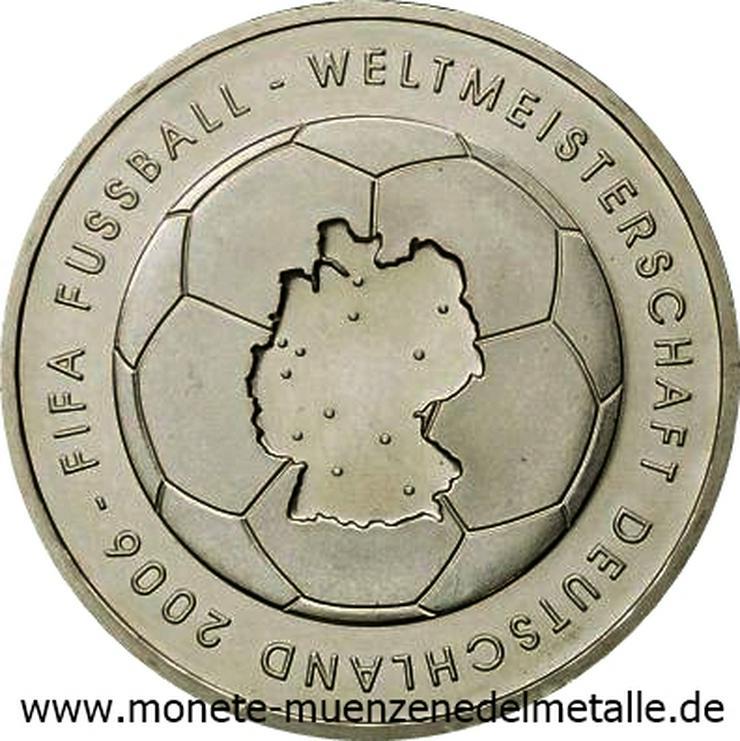 Deutschland 10 Euro Fifa Weltmeisterschaft 2003 Silber Münze - Münzen - Bild 1