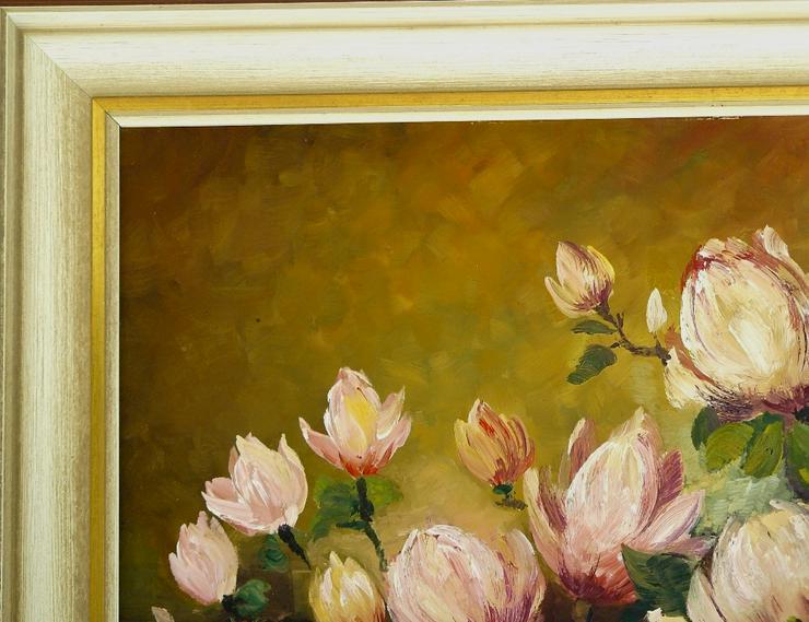 Bild 3: Gemälde R. Winter Magnolien (B062)