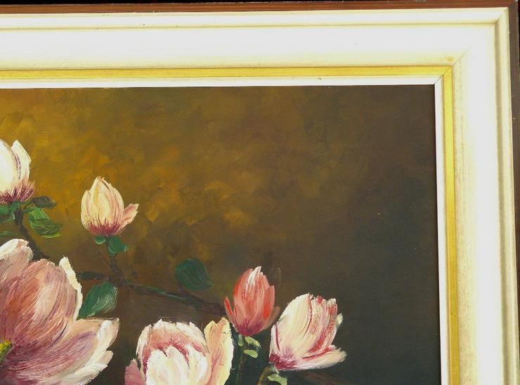 Bild 4: Gemälde R. Winter Magnolien (B062)