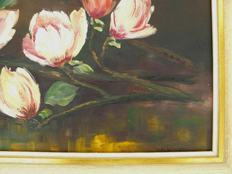 Bild 5: Gemälde R. Winter Magnolien (B062)