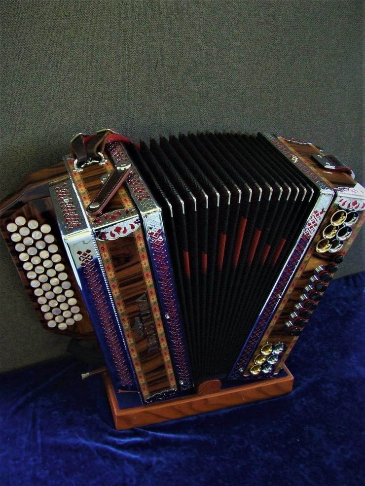 Steirische Harmonika Beltuna Alpstar IV D Palisander G/C/F/B