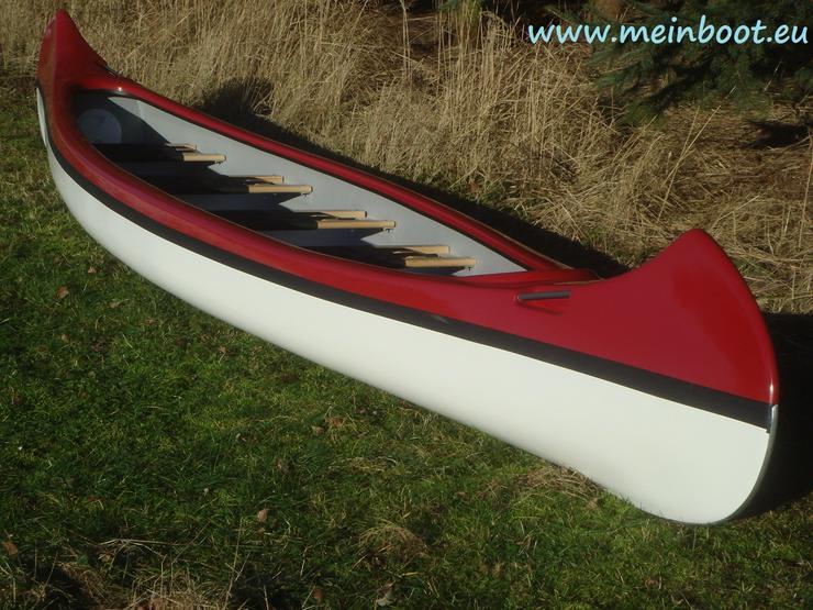 Kanu 5er Kanadier 550 Neu ! in rot /weiß