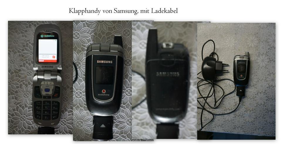 SAMSUNG  KLAPPHANDY mit Ladekabel , Funktionstüchtig, siehe  FOTO