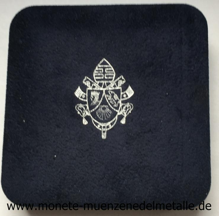 Bild 3: Vatikan 10 Euro Weltmessionstag 2007 Silber Münze