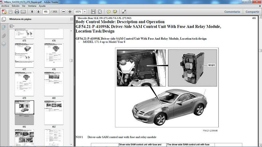 Bild 5: Mercedes WIS EPC ASRA Werkstatt Service Reparatur DVD - SLK SL Vito Viano Sprinter Atego Pagode