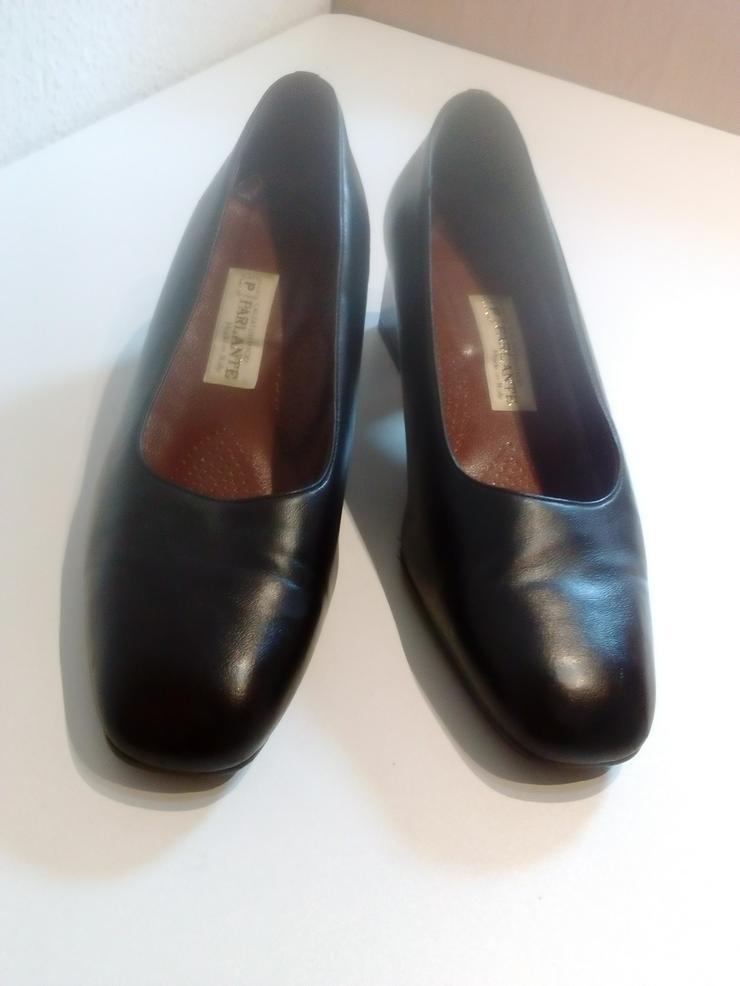 Damen Pumps, Größe 40, schwarz, echt Leder