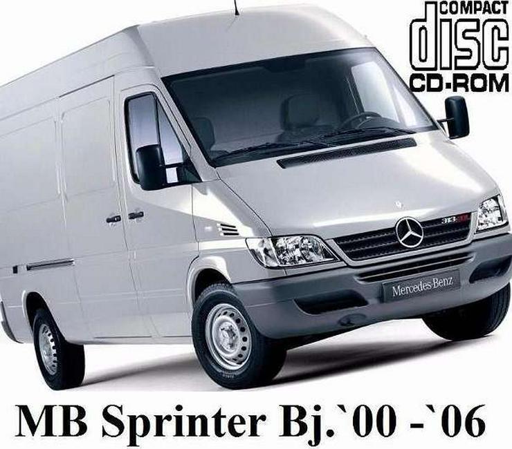 Mercedes Sprinter (901-905) Service PROFI-Werkstatt Reparatur CD 1998-2006 - Neueste Ausgabe! - Elektrik & Steuergeräte - Bild 1