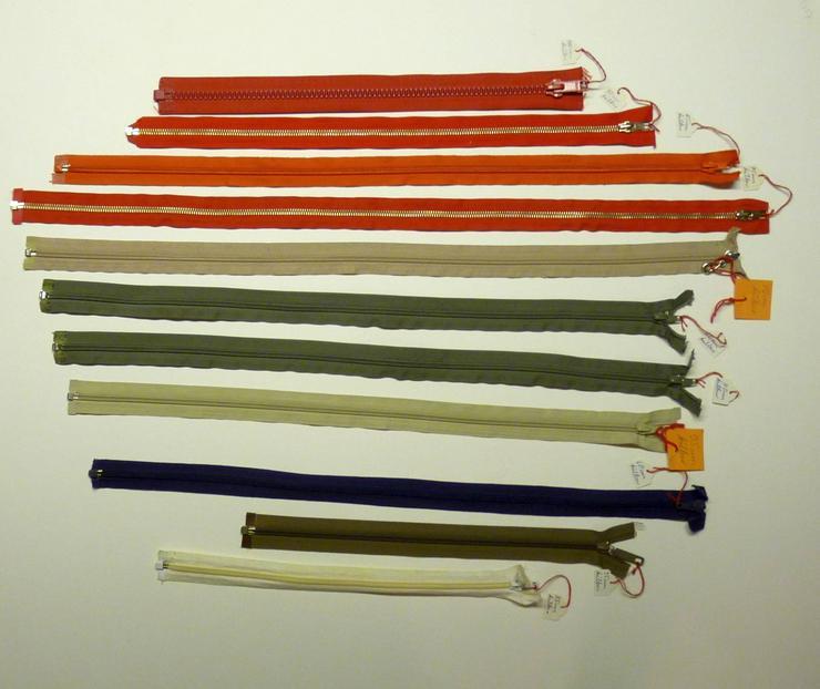Reissverschlüsse von 30 - 75 cm, teilbar usw.