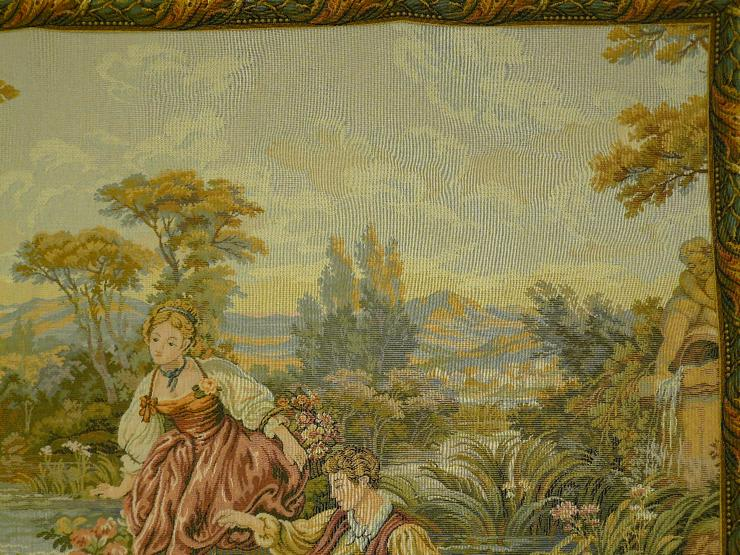 Bild 4: Gobelin Romantik-Bildteppich 137x82 (G023)