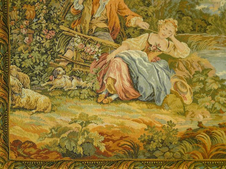 Bild 2: Gobelin Romantik-Bildteppich 137x82 (G023)