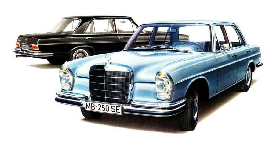 Mercedes 108 109 110 Heckflosse 111 113 SL Pagode Reparatur Service WIS CD