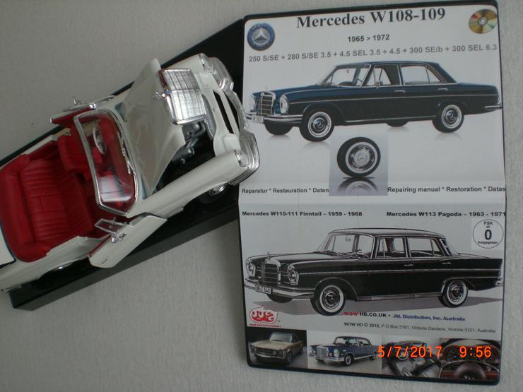 Bild 2: Mercedes 108 109 110 Heckflosse 111 113 SL Pagode Reparatur Service WIS CD