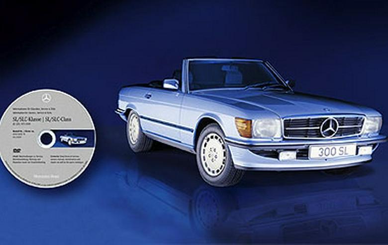 Bild 2: Mercedes 107 SL SLC 280 450 560 - Werkstatt Reparatur Service Profi CD Werkstatthandbuch 1971-1989