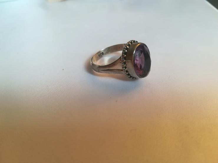 Bild 5: Ring Amethyst und Silber 925