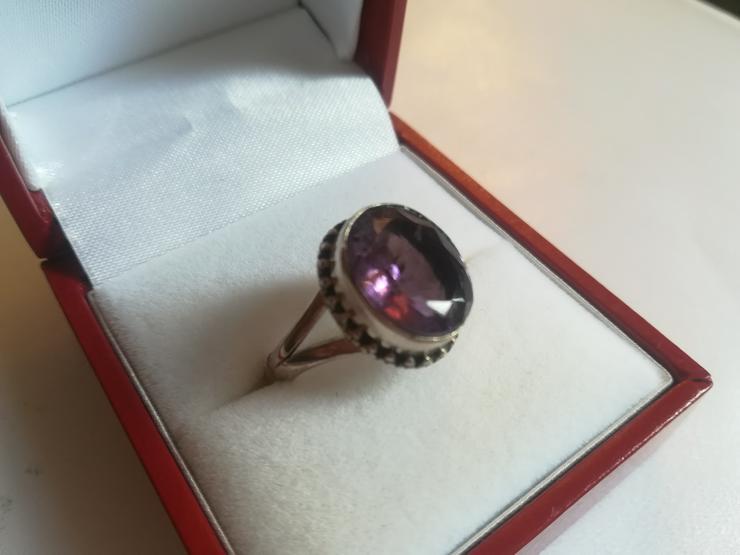 Bild 4: Ring Amethyst und Silber 925