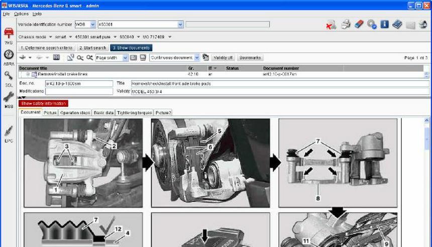 Bild 4: Mercedes W126 126 Werkstatt Service Reparatur Werkstatthandbuch CD für - Alle Bj. S SE SEL auch USA