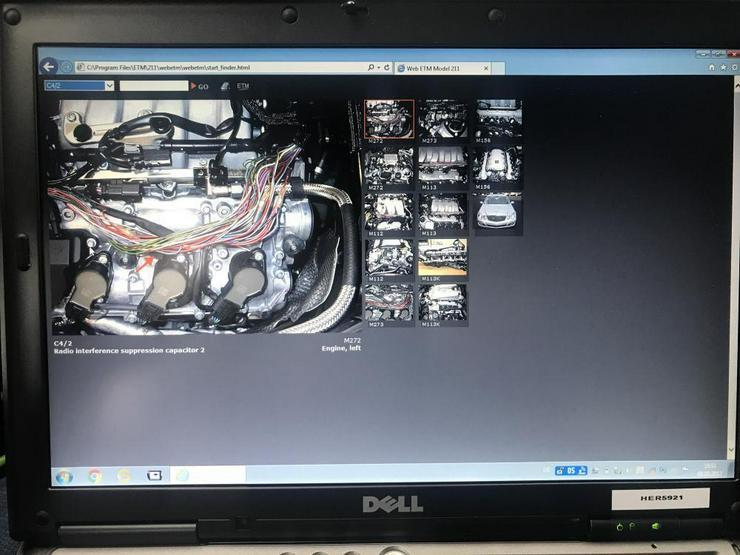 Bild 5: Mercedes W126 126 Werkstatt Service Reparatur Werkstatthandbuch CD für - Alle Bj. S SE SEL auch USA