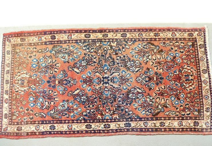 Orientteppich Saruk, Sarugh antik 124x64 (T099)