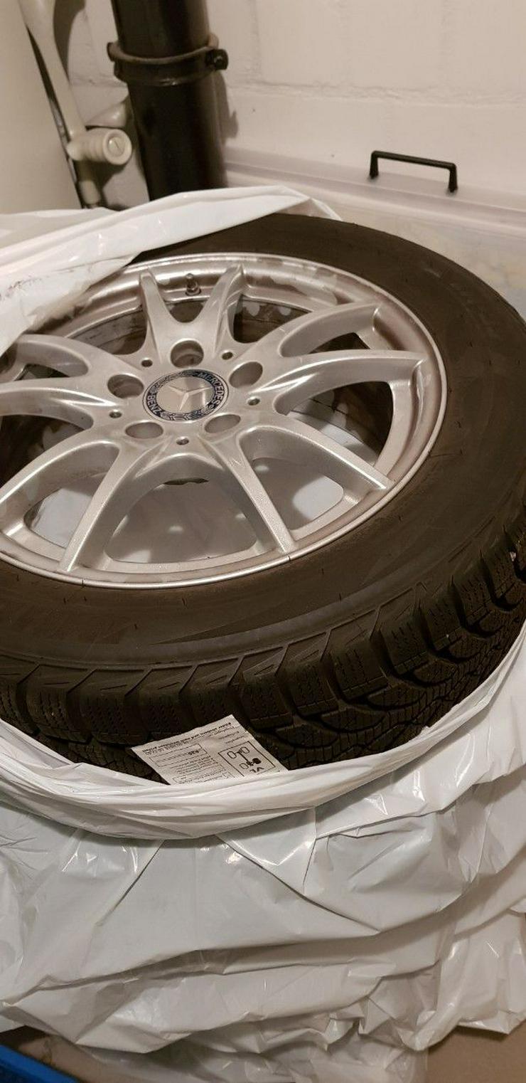 """Verkaufe 4 Winterreifen(Bridgestone) + Felgen (Mercedes-Benz) 16"""""""