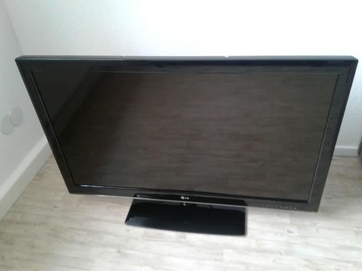 EIn LCD Fernseher-Gerät vom LG