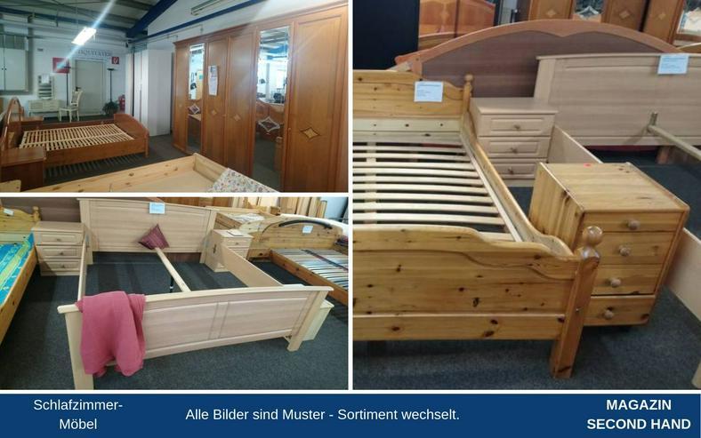 Schlafzimmer Bett Matratze Lattenrost Schrank