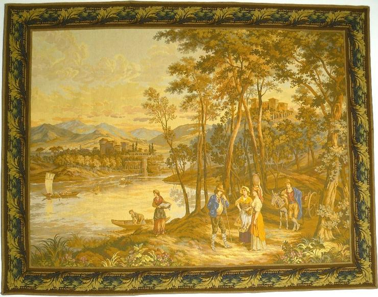 Gobelin Bildteppich groß antik (G045)