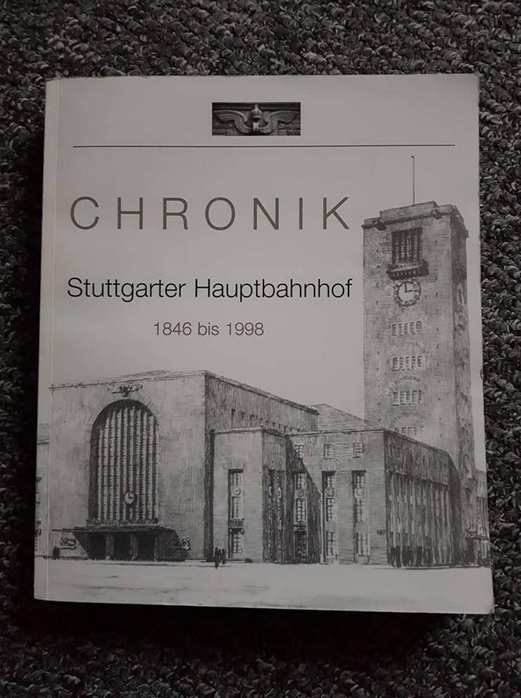 Die Chronik vom Stuttgarter Hauptbahnhof 1846-1998