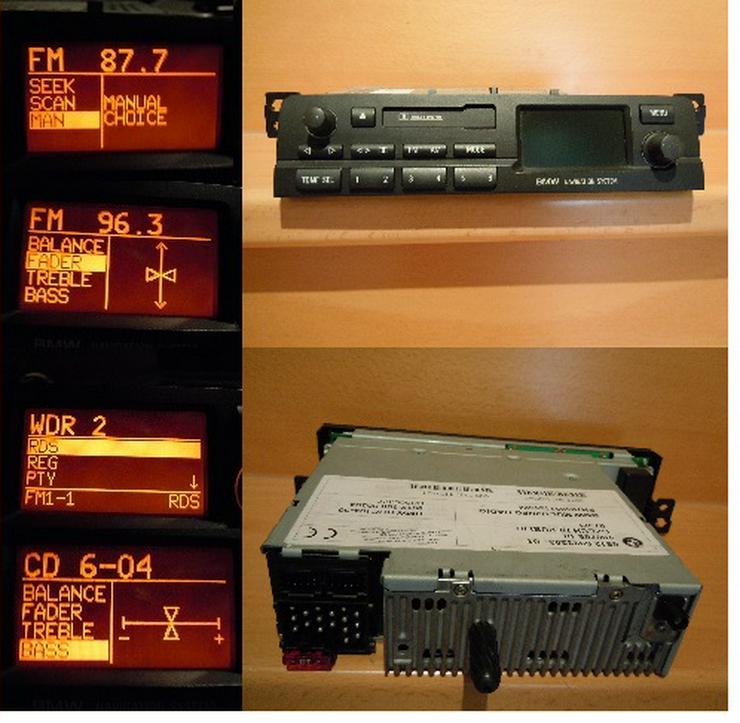 BMW Multi Info Radio E46 Business Navi System