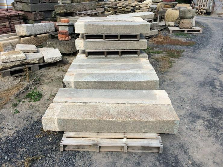 Alte Granittreppen , Stufen , Stein