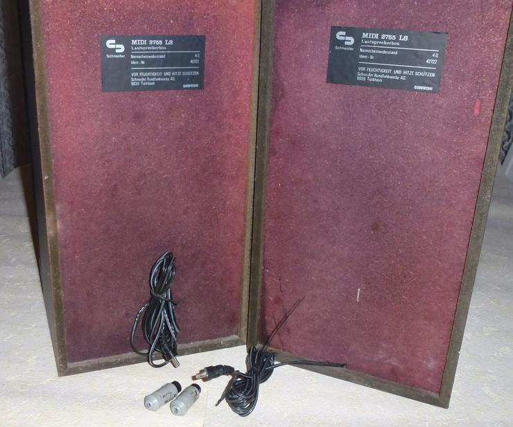 Bild 3: Zwei Lautsprecherboxe  MIDI 2755 LS