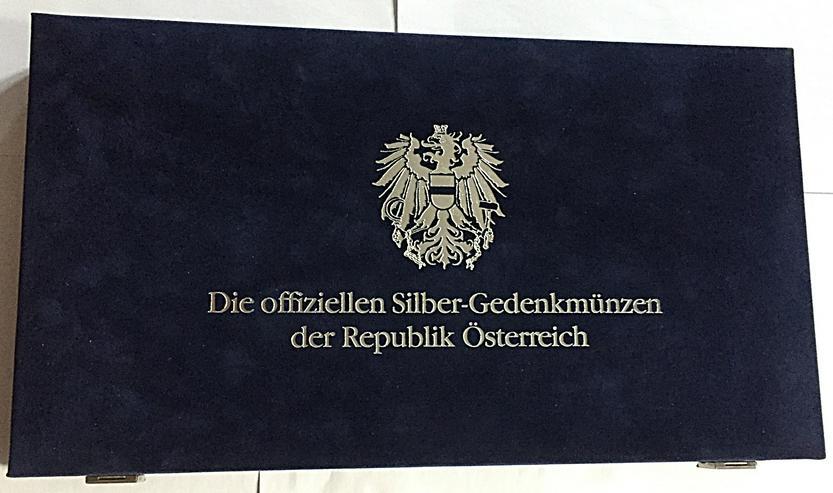 Österreich KomplettSatz  19X25 Und 20X50 Schilling Silber Münze