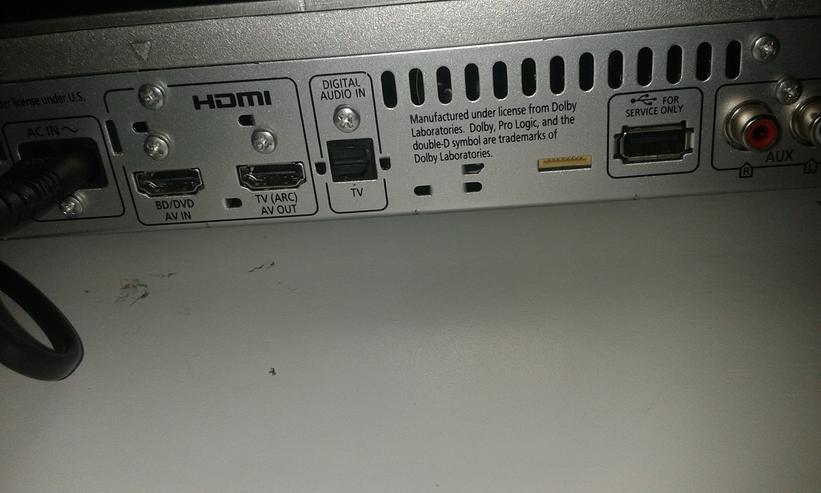Panasonic SC-HTE 80 Home Theater Audio System