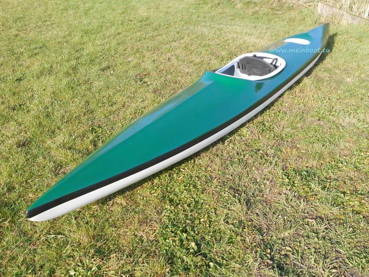 1er Kajak 450 Neu ! in grün /weiß